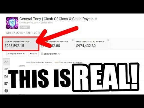 How Much YouTube Pays Me In 2018 ($986,000) - A MUST WATCH!