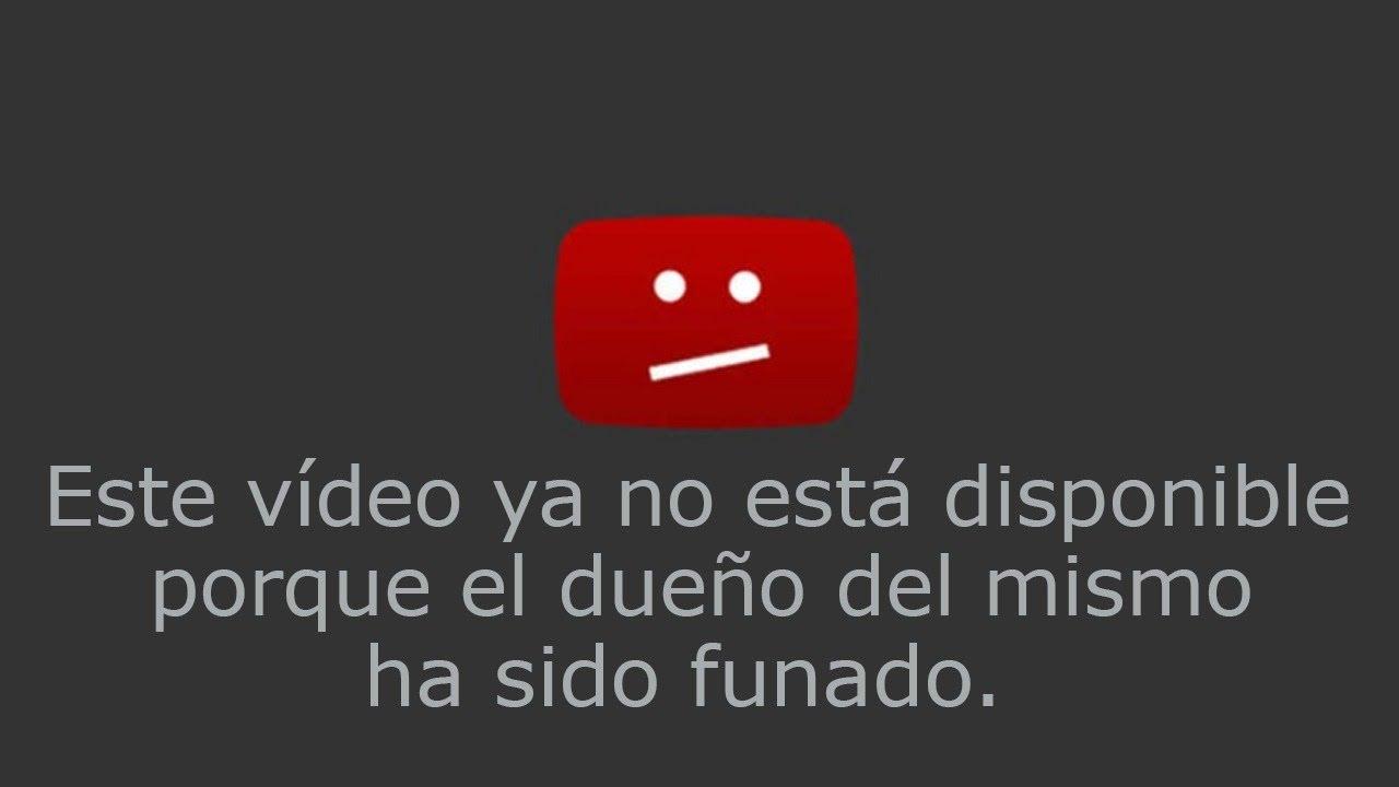 Este vídeo ha sido retirado de YouTube debido a la Cancelación Pública del propietario.
