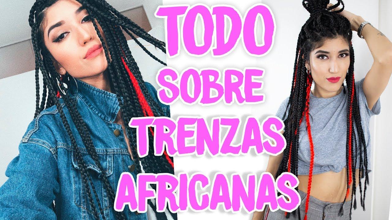 Trenzas Africanas Como Se Lavan Se Cae Tu Pelo Youtube