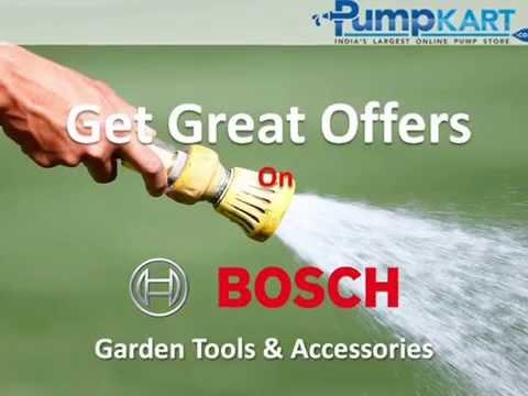 Buy Boschu0027s Car Washers And Garden Tools Online | Bosch Garden Accessories  India   Pumpkart.com   YouTube