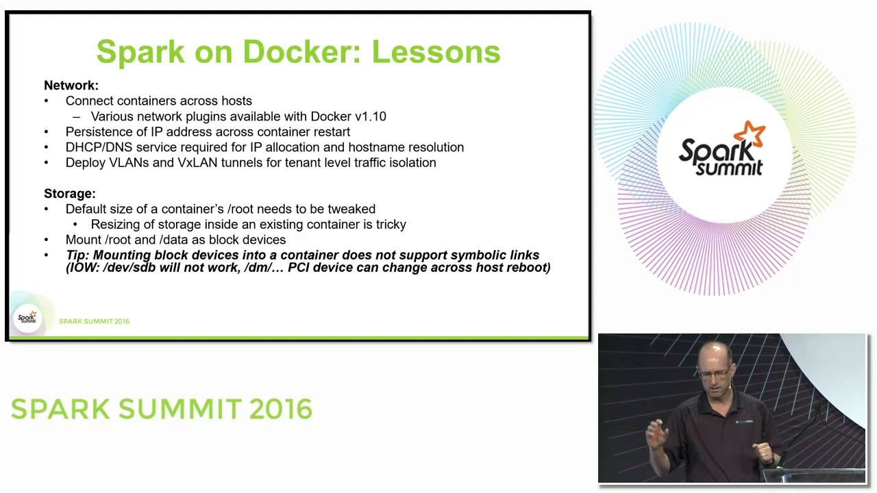 Lessons Learned From Running Spark On Docker - Databricks