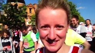 London Marathon: Telegraph video diary - five miles in