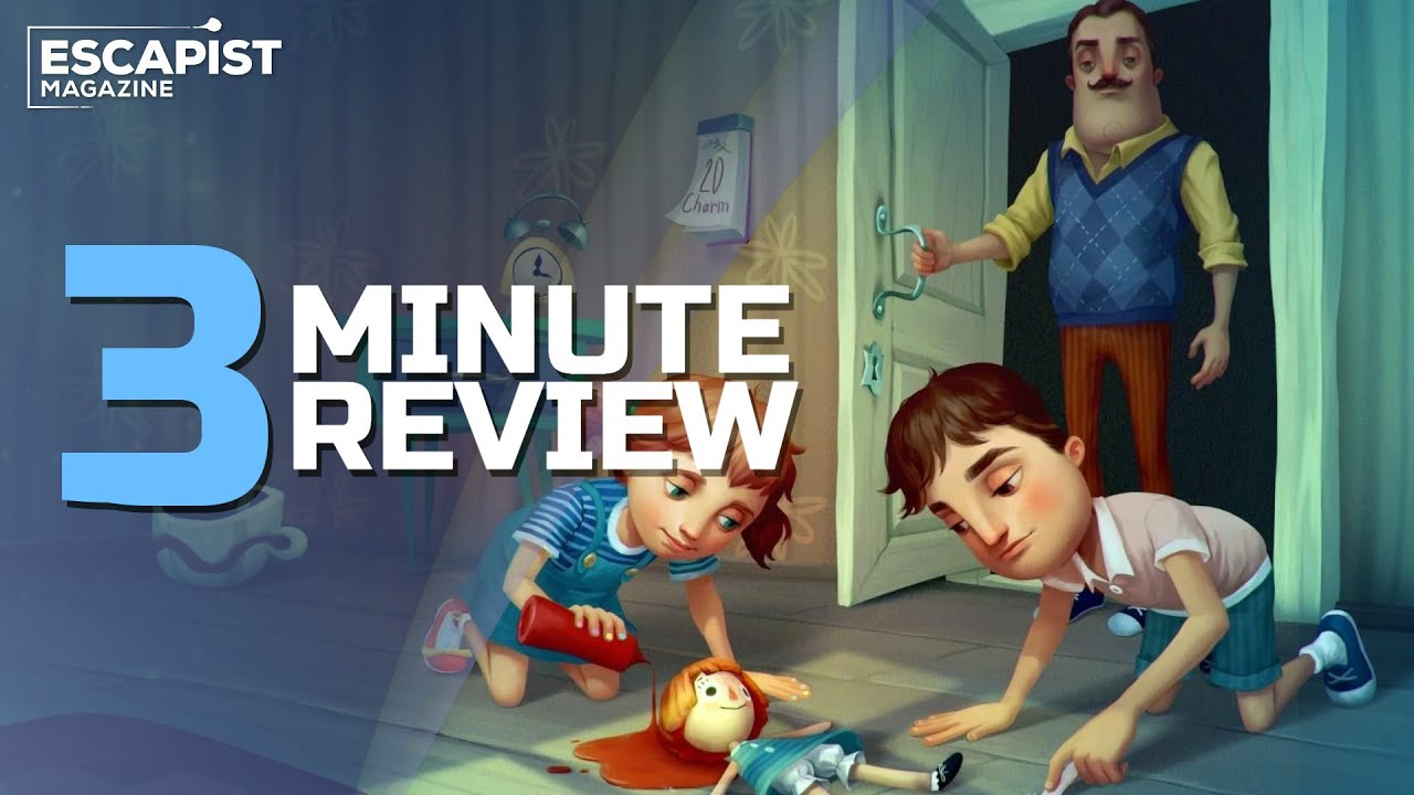 Hello Neighbor: Hide and Seek | Review in 3 Minutes (Video Game Video Review)