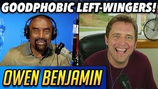 Owen Benjamin vs Goodphobic Left-wingers! (Interview w/ Jesse Lee)