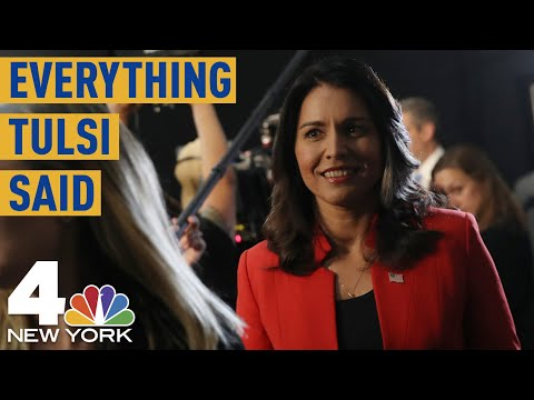Everything Tulsi Gabbard Said During the First Democratic Debate | NBC New York