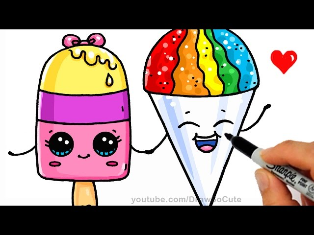 How To Draw Dessert Sweets Nhltv Net