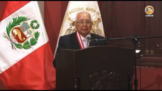 HONORIS CAUSA AL Dr. RAÚL GARCÍA ZARATE