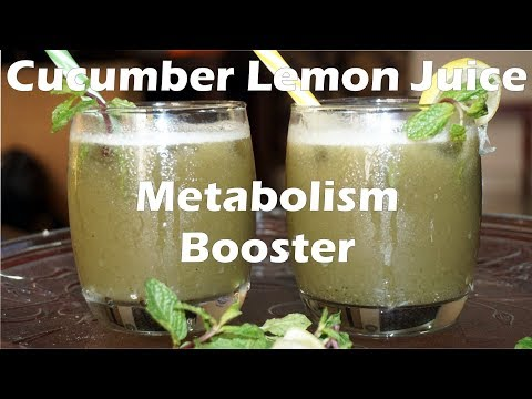 Fast Weight Loss Drink - Cucumber Juice | Healthy Summer Drinks | Metabolism Booster Drink