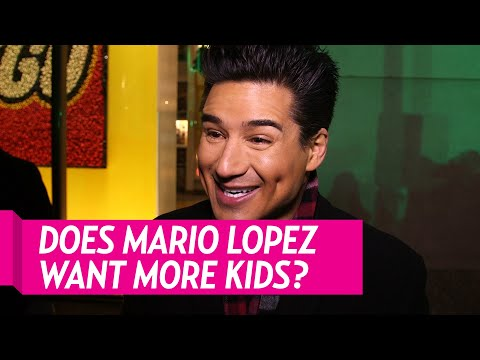 Mario Lopez Talks More Kids With Wife Courtney
