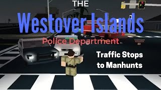 Roblox Ultimate Driving | POLICE| Ep.5 Pursuits to Manhunts!