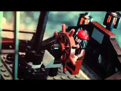 сборка корабль черная жемчужина