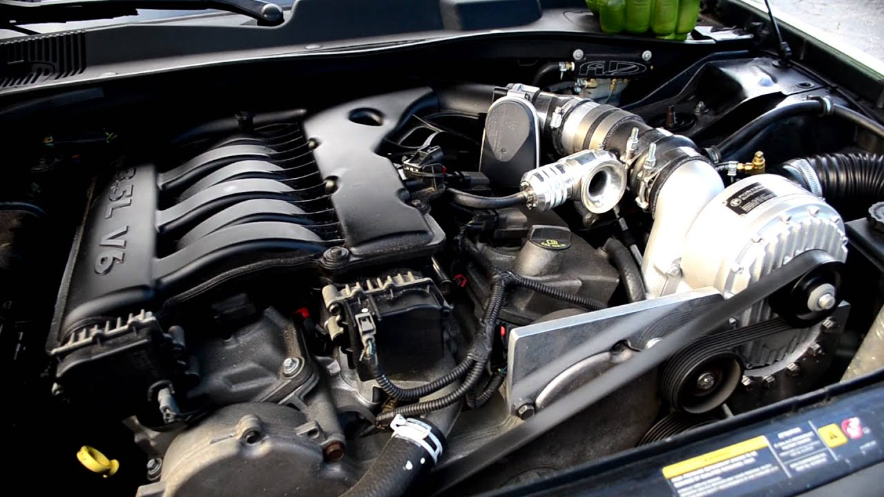Supercharged 35L V6 Magnum (not a typo)  YouTube