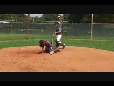 Catcher's Blocking Drills at The Baseball Academy