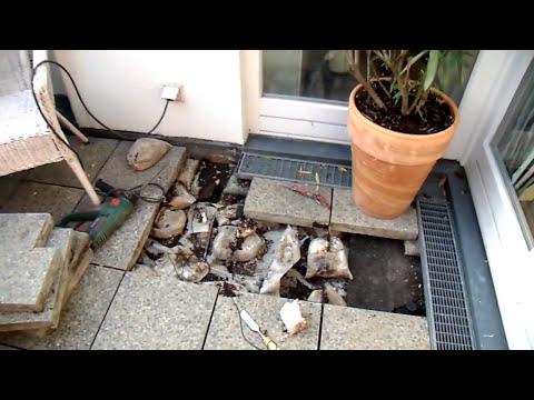 Bausachverständiger Schmalfuß Terrassenabdichtung defekt video