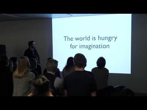 Refe Tuma of Dinovember: Don't Let Imagination Go Extinct