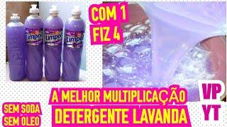 A Melhor Multiplicação de Detergente Sem Soda