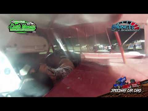 #1 USA Chris Hawkins - Late Model - 9/1/19 Monett Motors Speedway - In Car Camera