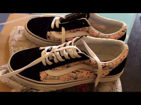 New Vans Limited Edition Snoopy collaboration w Shoes Review 2017!!!✔🏆