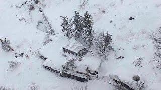 İtalya'da çığ felaketi: En az 29 kişi kayıp