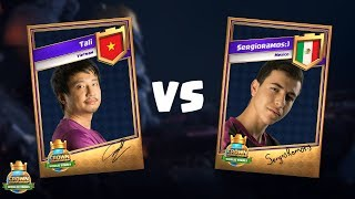 2017皇冠錦標賽全球總決賽4強賽- Tali vs SergioRamos:)