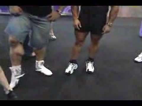 FIBO 2008 - Alfonso Del Rio & me comparing calves