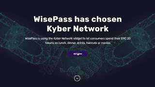 Buy WisePass Lifestyle Credits with ERC20 Tokens using KyberWidget