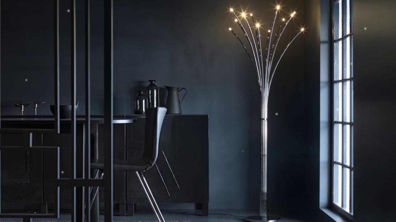 Ikea Hovnas Standleuchte Strahlt Wie Gluhwurmchen Im Sommer By