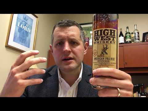 High West American Prairie Bourbon Finished In Rye Cask