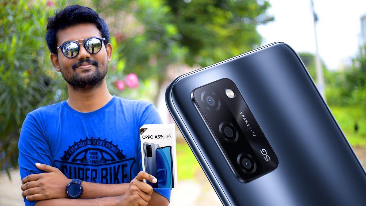 பட்ஜெட்டில் ஒரு 5G  மொபைல்⚡⚡⚡ | OPPO A53s Sleekest 5G Phone Unboxing & First Impression | TechBoss