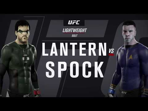 Green Lantern vs. Spock (EA Sports UFC 2)