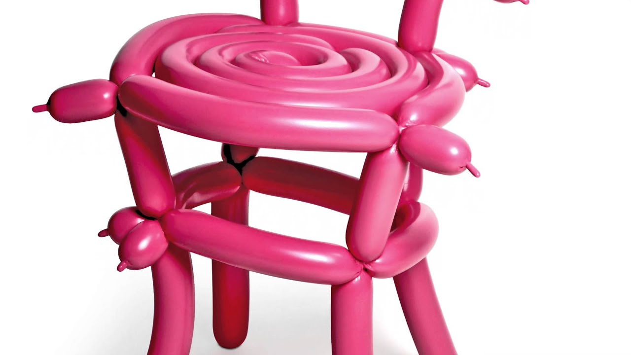 Chair With Balloons Best Office Back Support Pillow Balloon Youtube