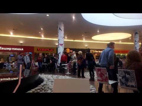 Флешмоб в торговом центре г.Рязани