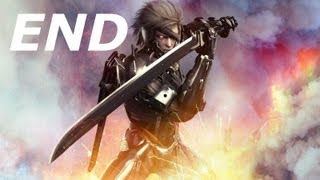 Metal Gear Rising Revengeance-Final Mission-Ending/Final Boss-Armstrong
