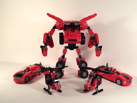 Lego Transformers by M1NDxBEND3R - Death Toll (M1NDxBEND3R's First Combiner!)