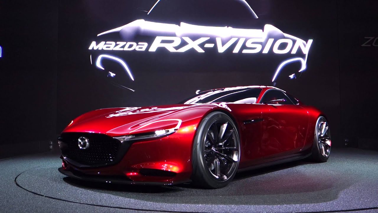 presentation of the mazda rx vision at tokyo motor show 2015 youtube. Black Bedroom Furniture Sets. Home Design Ideas