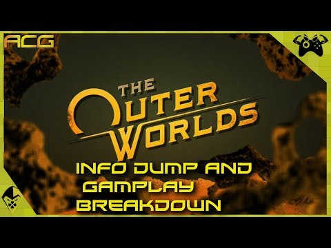 The Outer Worlds Info Blowout - New Details, Trailer and Gameplay Breakdown and More