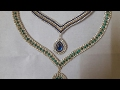 Bridal Necklace set making for online wedding jewelry//bridal jewelry collection// DIY  neckacle