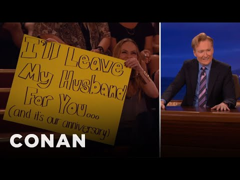 The Audience Lady With A Crush On Conan  - CONAN on TBS