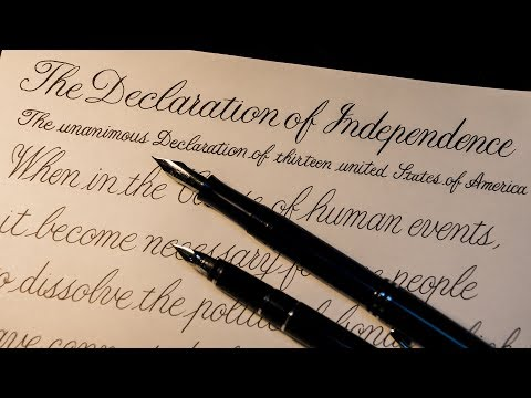 Declaration of Independence #1