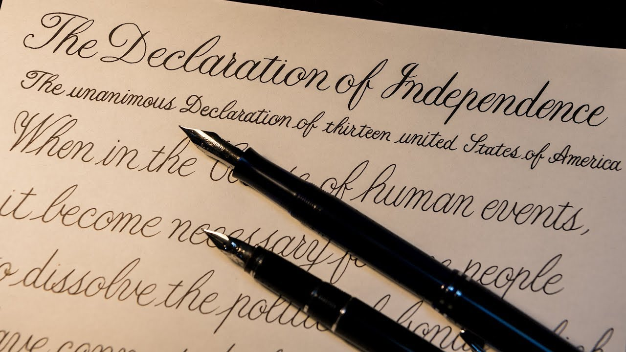Declaration of Independence #1 - YouTube