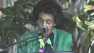 Elizabeth Thomas-Hope : The Environmental Dilemma in Caribbean Context(part 3) Thumbnail