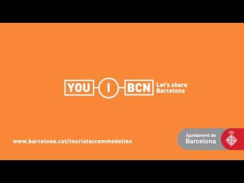 Stay in a licensed tourist accommodation in Barcelona