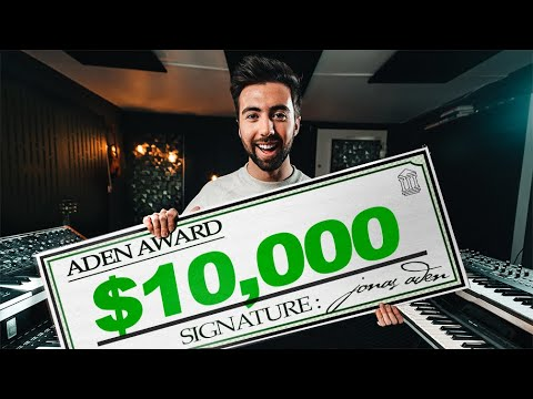 Jonas Aden launches $10k giveaway contest 'Aden Award' for an upcoming musician