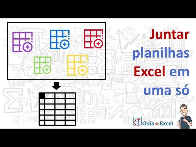 [Excel] Juntar planilhas Excel em uma só