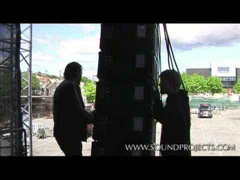 line array setup   uncut pt 2