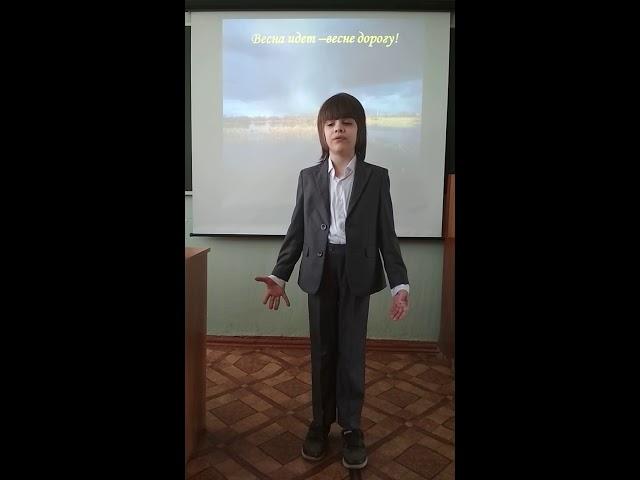 Изображение предпросмотра прочтения – ЕгорАнтонов читает произведение «Первый гром прогремел» (Никитин Иван)