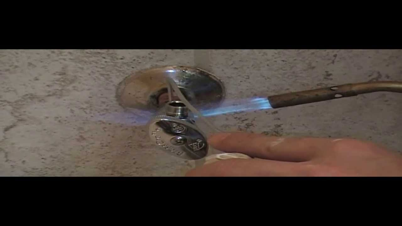 Install Cut Off Valve Or Shut Off valves for Toilets, Sinks ...
