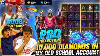 We Gifted Our Old School Friend 10000 Diamonds In His Noob Free Fire Account - Garena Free Fire