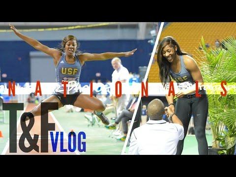 2017 TRACK & FIELD INDOOR NATIONALS Vlog | Pranking Josh, 5x All-American, Making School History