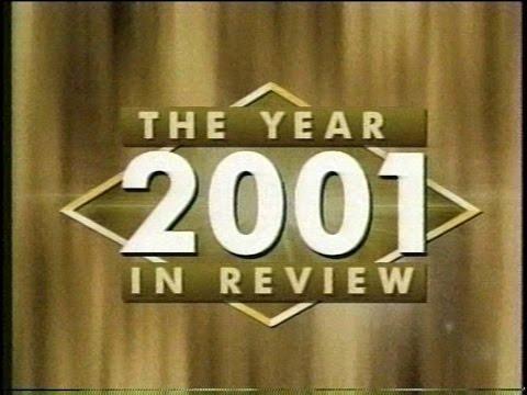 2001 Year In Review by Polly Gonzalez & John Gilbert, KLAS-TV Las Vegas